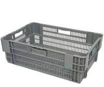 Drehstapelbehälter 600x400x205 perforiert • 38 Liter