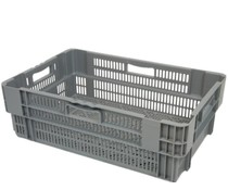 Stack nest container 600x400x205 perforated • 38 Liter