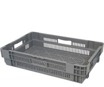 Stack nest container 600x400x144 perforated • 26 Liter