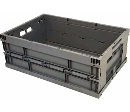 Folding container 600x400x215 reinforced bottom