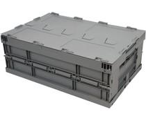 Faltbehälter 600x400x223 • Deckel • verstärkter Boden
