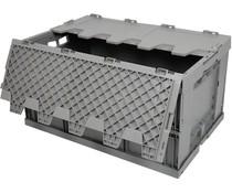 Bac pliable 600x400x320 • avec couvercle