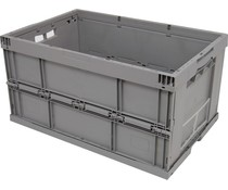 Folding container 600x400x320 • reinforced bottom