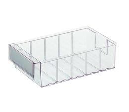 Bacs de rangement 300x183x81 transparent
