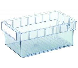 Bacs de rangement 400x235x145 transparent
