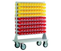 Mobile rack with 180 bins BISB5 Series