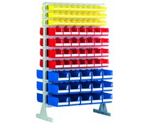 Standing shelf two sides with warehouse bins BISB5 • BISB4 • BISB3Z Series