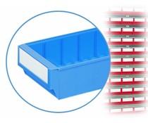 Étiquettes pour bacs de rangement BILBB 100 pièces