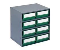 Blocs-tiroirs 376x300x400 avec 8 bacs de rangement