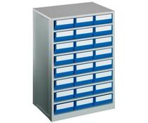 Blocs-tiroirs 600x417x862avec 24 bacs de rangement