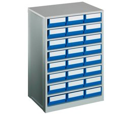 Drawer cabinet 600x417x862 with 24 rack boxes