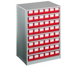 Blocs-tiroirs 600x417x862 avec 48 bacs de rangement