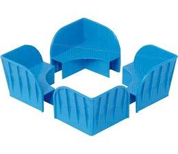 Stapelecken für Aufsatzrahmen • Verpackungseinheit 180 Stück
