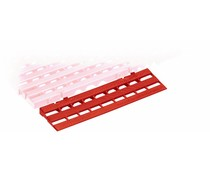 Ramp for plastic floor tile