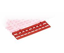 Rampes d'accès pour caillebotis ou dalles en plastique