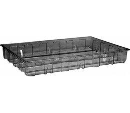 Opvangbak • opvangelement 1230x830x160 mm • 140 Liter • transparant
