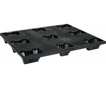 Industrial plastic pallet 1200x1000x145 • 9 feet