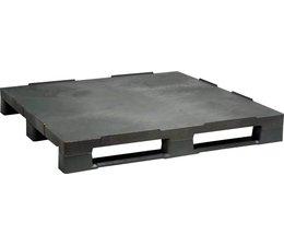 Palette industrielle en plastique 1200x1000150 • 3 semelles