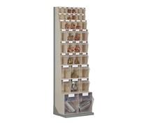 Kantelbakkenmagazijn • staander met 37 kantelbakjes