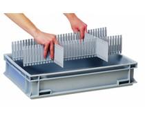 DIVIT 400 séparateur emboîtable • peignes de séparation • 10 Pièces