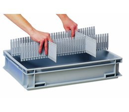 Divider for plastic boxes DIVIT 400 • 10 pieces