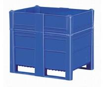 DOLAV Caisse palette 1200x800x1000 • 700 L bleu plein
