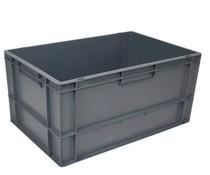 Eurobehälter 600x400x320 geschlossen • Griffleiste