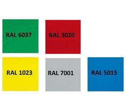 Individuele kleuren voor Euronorm bakken