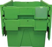 Bacs de distribution avec couvercle intégré