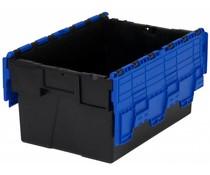 LOADHOG Bacs de distribution 600x400x365 bleu • 65 Litres