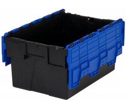 LOADHOG Distributiebak 600x400x365 blauw • 65 Liter