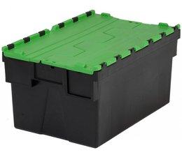 LOADHOG Distributiebak 600x400x365 groen • 65 Liter