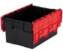 LOADHOG Bacs de distribution 600x400x365 rouge • 65 Litres