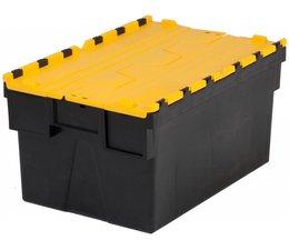 LOADHOG Bacs de distribution 600x400x365 jaune • 65 Litres