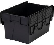 LOADHOG Bacs de distribution 600x400x365 gris • 65 Litres