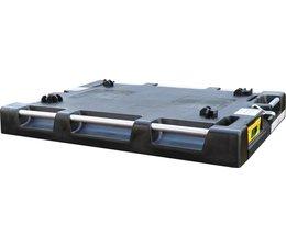LOADHOG Paletten- deksel 822x618x93 met geïntegreerd spanriem-systeem