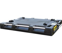 LOADHOG Pallet cover lid 822x618x93 with incorporated retractable straps