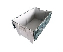 LOADHOG Attached lid container 1000x575x540 • 190 Liter heavy duty