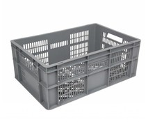 Euronorm crate • glass crate 600x400x240 perforated