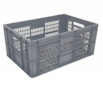 Euronorm crate • glass crate 600x400x290 perforated