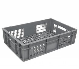 Euronorm crate • glass crate 600x400x170 perforated