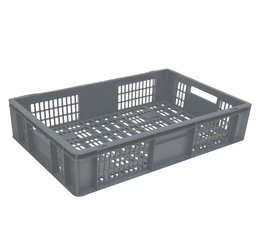 Euronorm crate • glass crate 600x400x150 perforated