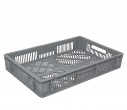 Euronorm crate 600x400x120 perforated