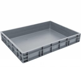 Euronorm crate 800x600x120 solid
