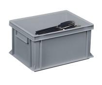Cutlery bin 400x300x220 solid walls and bottom