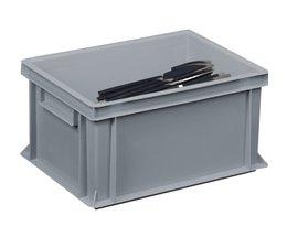 Besteckbehälter 400x300x220 geschlossene Ausführung