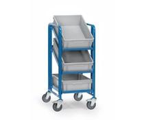Bakkenwagens 410x610x1100 • 3 niveaus • 3 Eurobakken