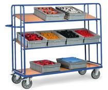 Bakkenwagens 1250x610x1560 • 3 verstelbare niveaus