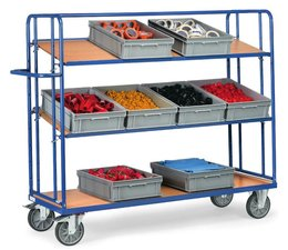 Shelf truck1250x610x1560 • 3 shelves • detachable • without boxes