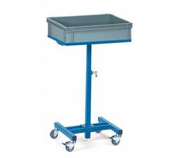 Materiaalstaander in hoogte verstelbaar tot 970 mm • draagkracht 150 kg • bakken niet inbegrepen